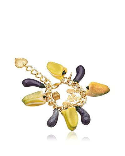 Dolce & Gabbana Armband goldfarben/aubergine
