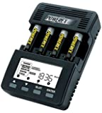 PowerEx MH-C9000 WizardOne Charger-Analyzer for 4 AA/AAA Batteries