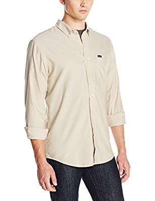 RVCA Men's That'll Do Long-Sleeve Oxford Shirt