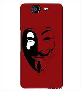 PrintDhaba Vendetta D-4641 Back Case Cover for MICROMAX A350 CANVAS KNIGHT (Multi-Coloured)