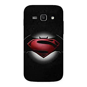 Cute Premier Knight Vs Day Multicolor Back Case Cover for Galaxy Ace 3
