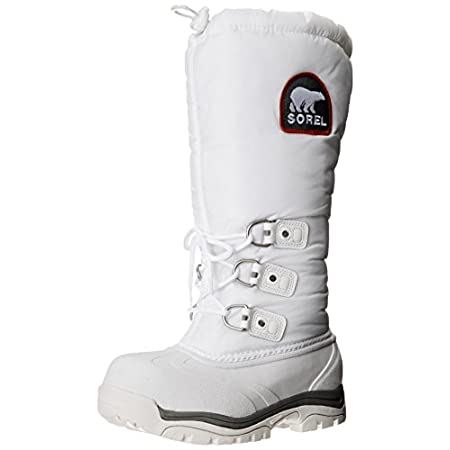 Extreme cold and piercing wind are no obstacles to progress in the SOREL SnowlionTM XT expedition boot. Featuring an upper of wind- and water-resistant polyurethane-backed textile with a drawstring topline to trap heat, this women's winter boot inclu...