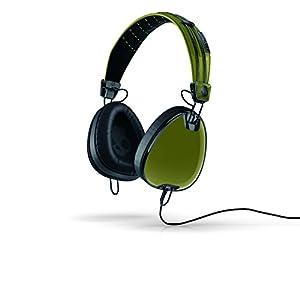 Skullcandy Aviator 2.0 Over-Ear Headphones with Mic - Green/Black