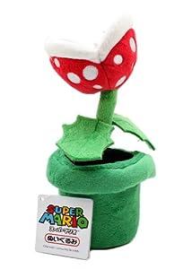 "Sanei Officially Licensed Super Mario Plush 9"" Piranha Plant Japanese Import (japan import) por Three British trade"