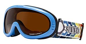 Sinner Runner II Goggle - Shiny Blue, One Size
