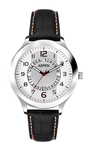 Aspen Aspen Workwear Analog Silver Dial Men's Watch - AM0042