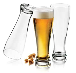 Libbey Giant Pub 22-1/2-Ounce Pilsner Glasses, Set of 6