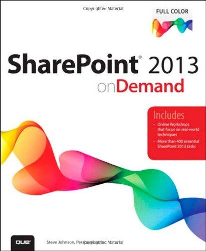 Buchcover: SharePoint 2013 on Demand