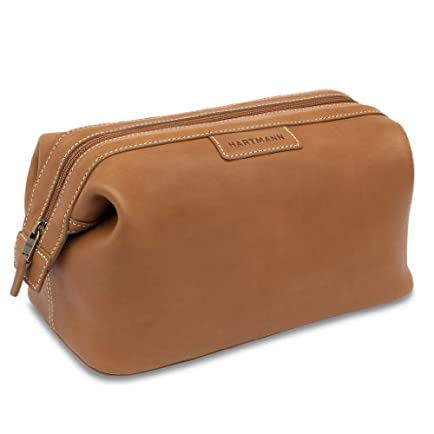 Hartmann Belting Leather Belting Framed Toiletry Kit