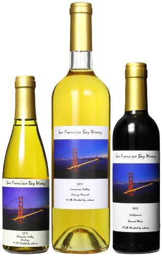 San Francisco Bay Winery Drink And Dessert Mixed Pack, 2 X 375 Ml And 1 X 750 Ml