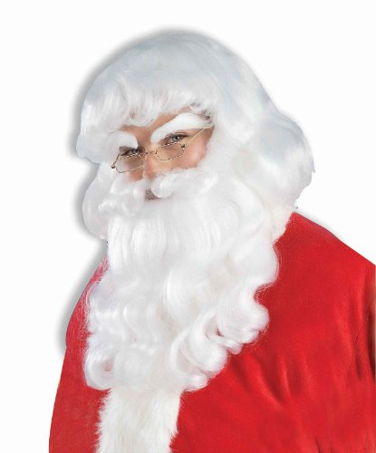 Santa Beard & Wig Set Economy Price Set 57020