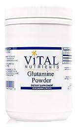 Vital Nutrients - Glutamine Powder - Gastrointestinal and Immune Support - 450 Grams