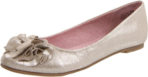 CL By Chinese Laundry Women's Go Ahead Ballet Flat,Champagne,8.5 M US