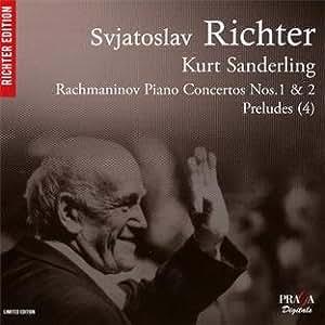 ラフマニノフ: ピアノ協奏曲 第1番&第2番、前奏曲 (Rachmaninov : Piano Concertos Nos.1 & 2, Preludes (4) / Svjatoslav Richter, Kurt Sanderling) [SACD Hybrid] [輸入盤]