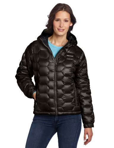 Marmot Ama Dablam Women's Insulated Down Hoody - Black, Small
