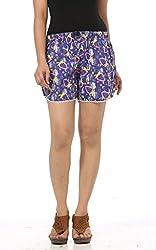 Abony Multicolor Printed Women's Short