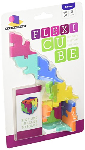 Brainwright Flexi Cube, The Bendy Stretchy 3D Puzzle