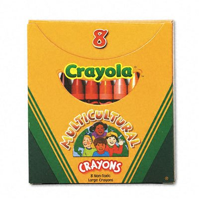 Crayola LARGE Multicultural Crayons