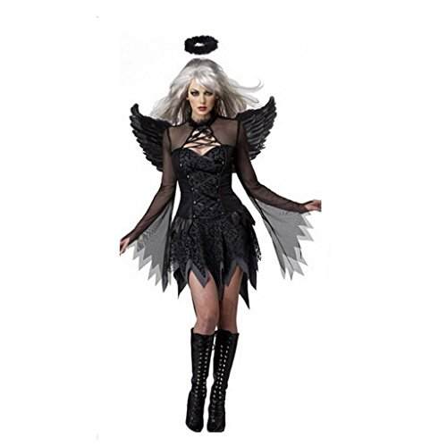 GWELL Fallen Angel Dress Costume