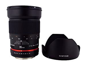 Samyang SY35M-S 35mm F1.4 Lens for Sony Alpha35mm Lens