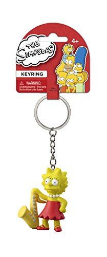 Fox The Simpsons Lisa 3D PVC Key Ring