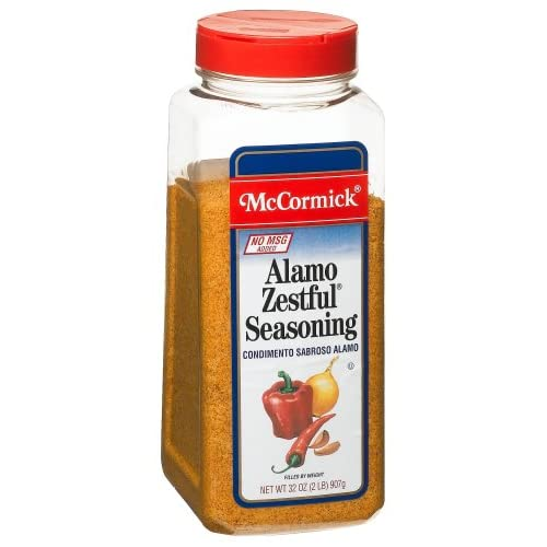 Amazon.com : McCormick Alamo Zestful (no Msg) Seasoning Mix, 32-Ounce