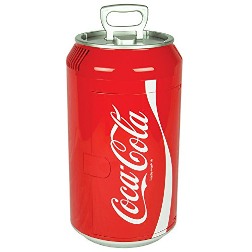 Coca Cola CC06 Fridge, Mini, Red (Coca Cola Bar Fridge compare prices)