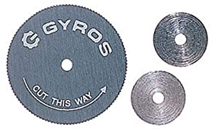 "Gyros 81-10805 Saw Blade, Ultra Fine & Thin  7/8"" Dia. For Dremel Type Tools"