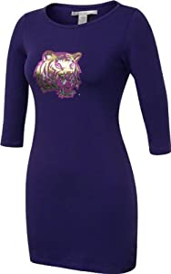 LSU Tigers Chicka-d-Ladies Purple Fitted Dress by Chicka-D