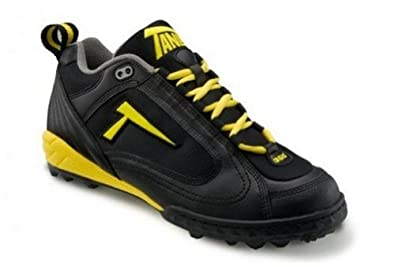 Buy Tanel 360-degree RPM Lite. Low-Cut Turf Shoes. Mens Turf Cleats. Black Black Gold. RPMTurf_Low_BBG by Tanel 360