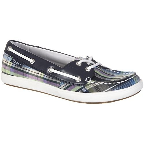 Skechers Starboard Womens Boats Shoes NAVY 9.5 M Wmns