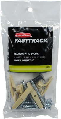 Rubbermaid 1784975 Fasttrack/Fast track Hardware Pack (Garage Rubbermaid Fasttrack compare prices)