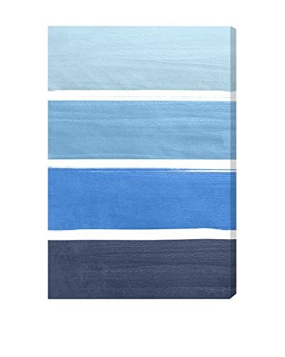 Oliver Gal The Right Shade Of Blue Canvas Art