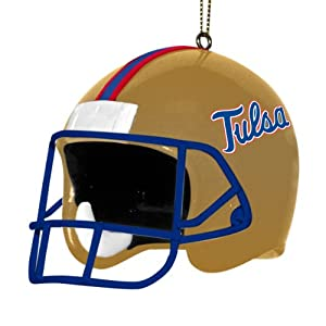 NCAA Tulsa Golden Hurricane 3 Inch Helmet Ornament by The Memory Company