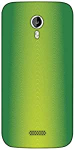 Snoogg palm trees card Designer Protective Back Case Cover For Micromax A116