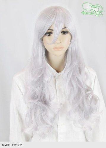 スキップウィッグ 魅せる シャープ 小顔に特化したコスプレアレンジウィッグ ドーリィミディ ホワイトキャンディ
