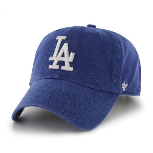 Mlb Los Angeles Dodgers Clean Up Adjustable Cap, Blue