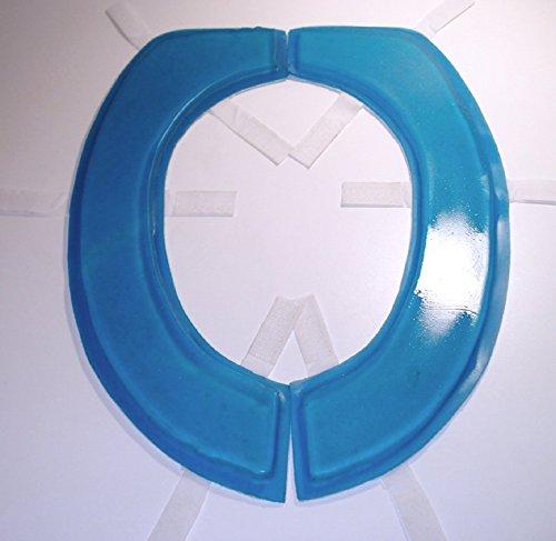 Semi Liquid Polymer Gel Toilet Seat Cushion Round Or