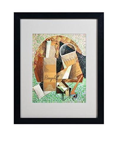 Juan Gris The Bottle of Banyuls 1914 Artwork