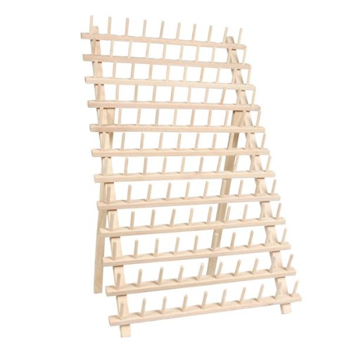 120 Spool / Cone Wood Thread Rack - By Threadart