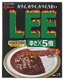 ビーフカレーLEE(リー)深煎り焙煎唐辛子ブレンド 辛さ5倍 210g