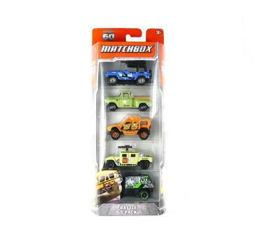 Matchbox Battle 5-Pack