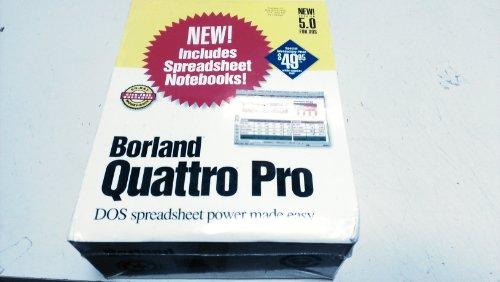 Borland Quattro Pro 5.0 for Dos