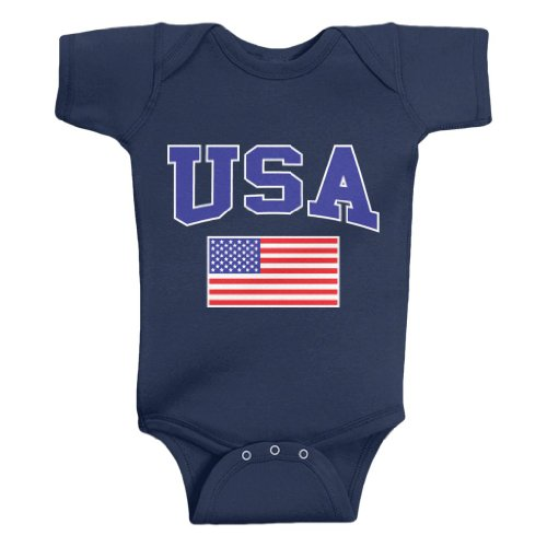 Patriotic Baby Clothes front-345758