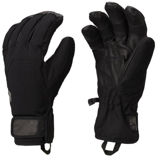 Mountain Hardwear Snowzilla Gloves Black Mens Sz L Mountain Hardwear B00AQ8YYC6