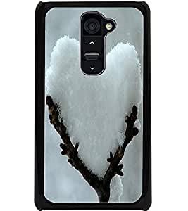 ColourCraft Creative Ice Image Design Back Case Cover for LG G2