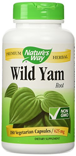NATURE S WAY, Wild Yam - 180 vegicaps