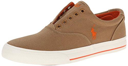 Polo Ralph Lauren Vito tela di moda della scarpa da tennis senza lacci design