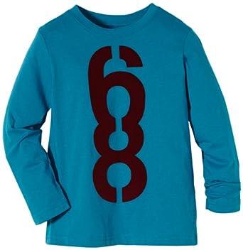 ESPRIT Sweatshirt  Col ras du cou Manches longues Garçon - Bleu - Blau (449 DARK CERULEAN BLUE) - FR : 4 ans (Taille fabricant : 104/110)