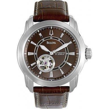 Bulova 96A108 Mens BVA Series All Brown Watch